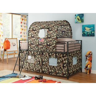 Buy luxury West Newbury Camouflage Bunk Bed by Zoomie Kids Reviews (2019) & Buyer's Guide