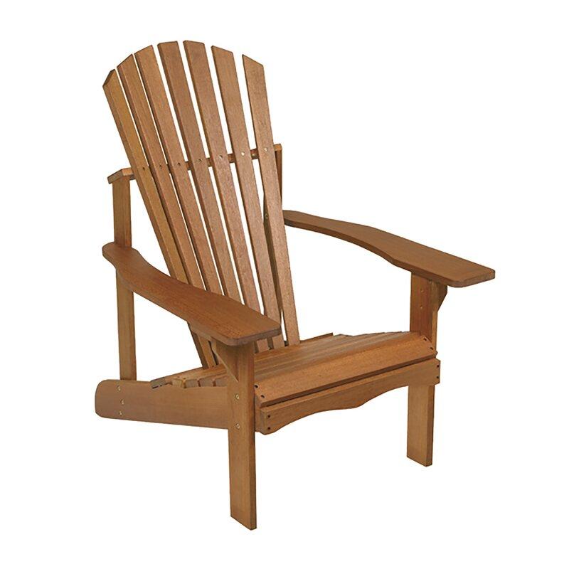 Lodge Wood Adirondack Chair