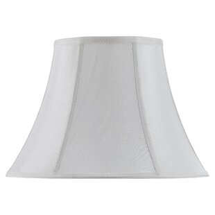 Piped 16 Fabric Bell Lamp Shade