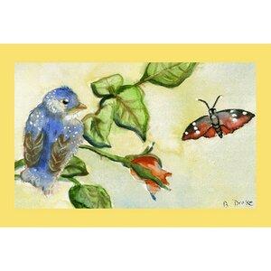 Garden Bird Doormat