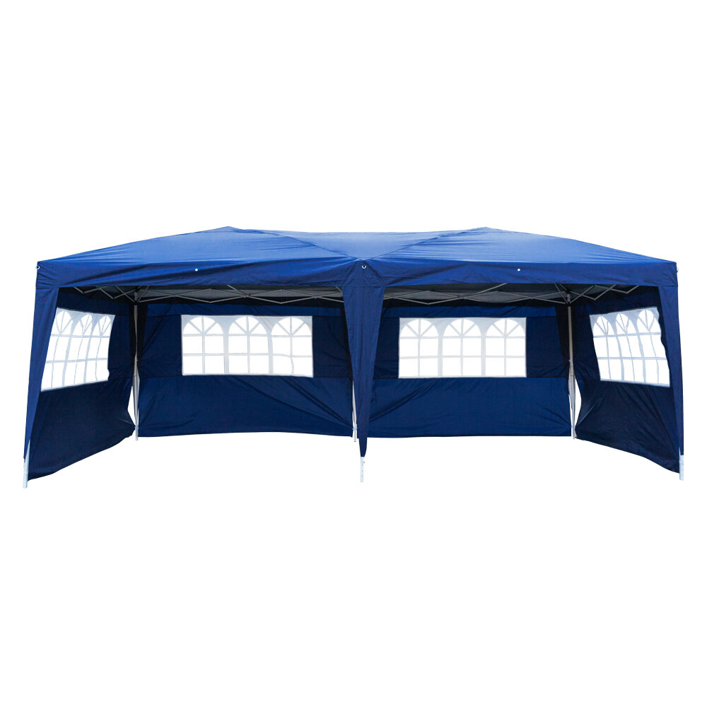 Ktaxon 20 Ft W X 10 Ft D Steel Pop Up Canopy Reviews Wayfair