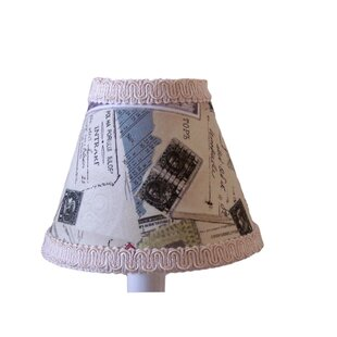 World Traveler 11 Fabric Empire Lamp Shade