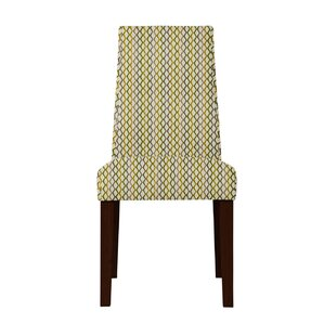 Haddonfield Lattice Parsons Chair (Set of 2) by Latitude Run