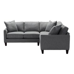 Buy clear Calvin Sectional by One Allium Way Reviews (2019) & Buyer's Guide