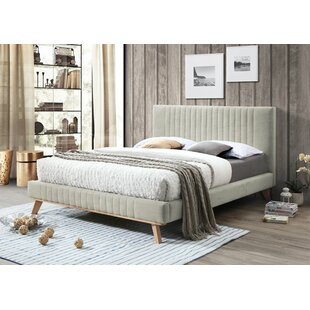 Warner Upholstered Bed Frame By Mikado Living