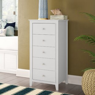 Vidor 5 Drawer Chest by Harriet Bee Design