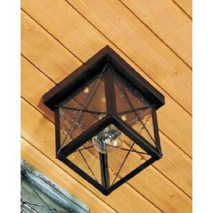 Best Price 1100 Series 1-Light Outdoor Flush Mount By Brass Traditions