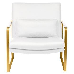 Everly Quinn Barys Upholstered Armchair