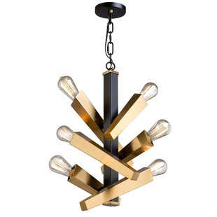 Artcraft Lighting Olympia 6-Light Sputnik Chandelier