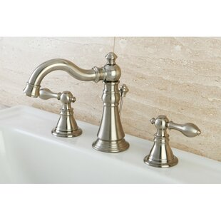American Classic Widespread Bathroom Faucet with Drain Assembly By Kingston Brass