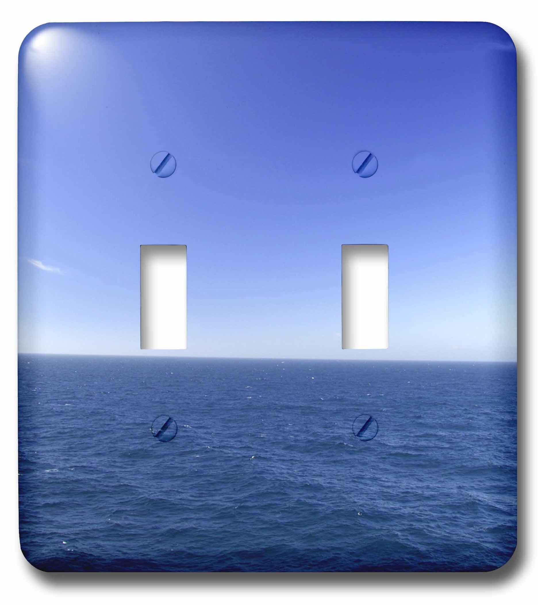 3drose Pacific Ocean 2 Gang Toggle Light Switch Wall Plate Wayfair