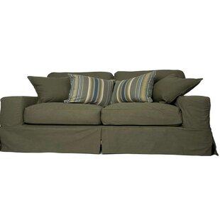 Oxalis T-Cushion Sofa Slipcover