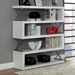 Geometric Bookcase by Benzara