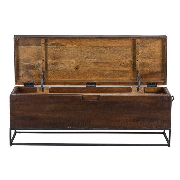 Admirable Rancho Mirage Wood Storage Bench Machost Co Dining Chair Design Ideas Machostcouk