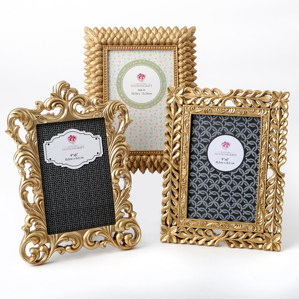 Astoria Grand 3 Piece Maley Magnificent Picture Frame Set & Reviews ...