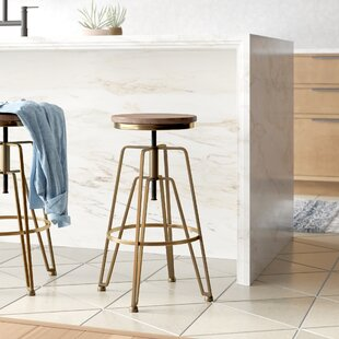 Marvelous Maureen Adjustable Height Swivel Bar Stool Caraccident5 Cool Chair Designs And Ideas Caraccident5Info