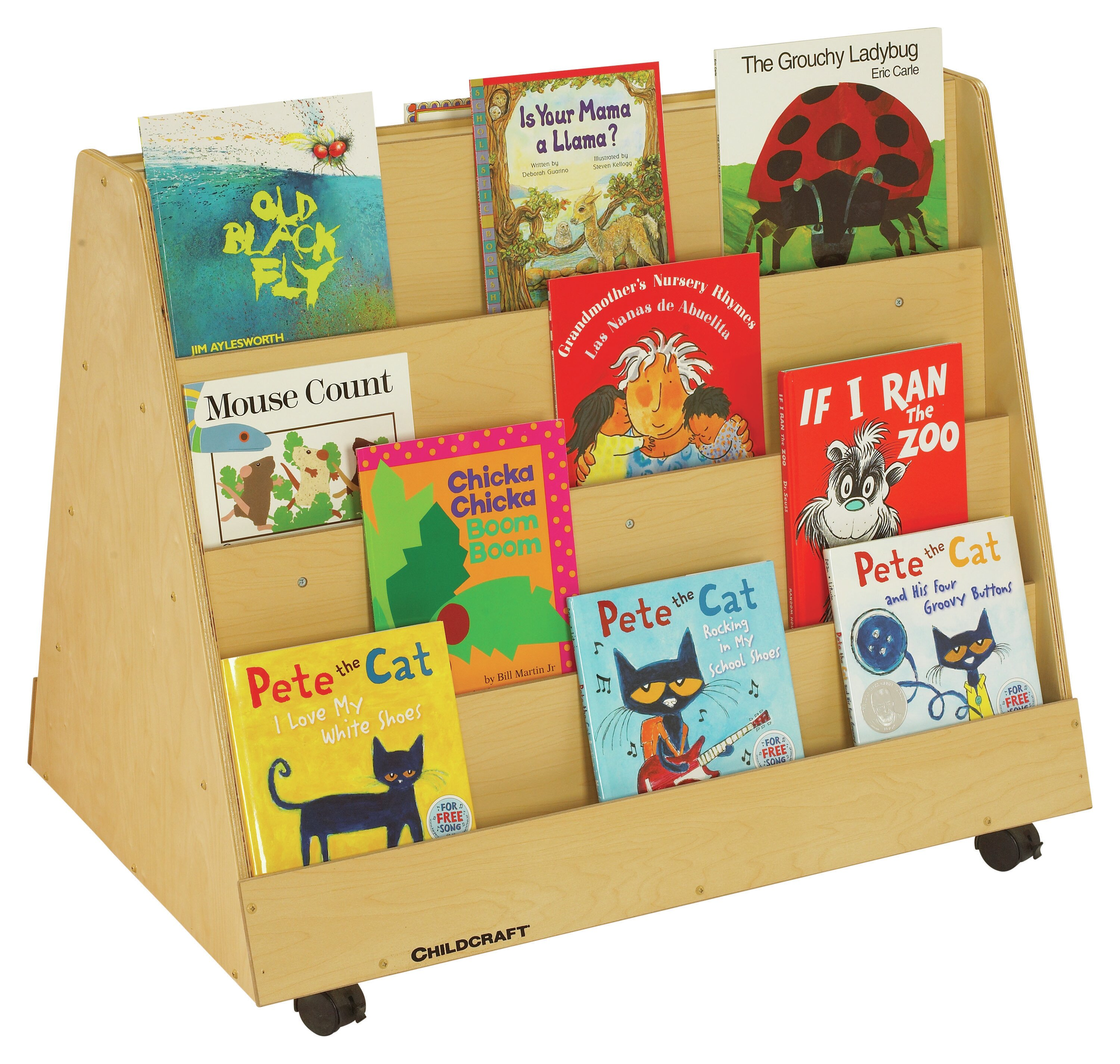Childcraft Double Sided 8 Compartment Book Display Wayfair