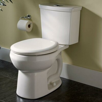 American Standard H2Option Dual Flush Elongated Two-Piece Toilet (Seat Not Included)