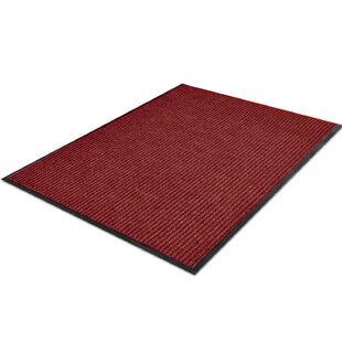 Longlier Red Outdoor Rug By Symple Stuff