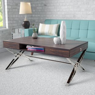 Eidson Coffee Table with Tray Top