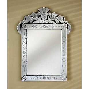 Etched Glass Mirror Wayfair