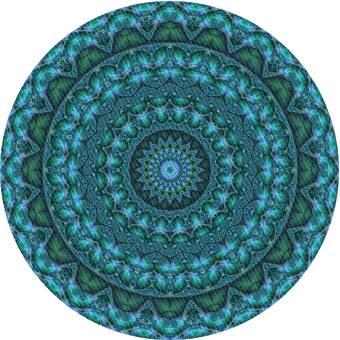 East Urban Home Karns Floral Wool Blue Area Rug Wayfair