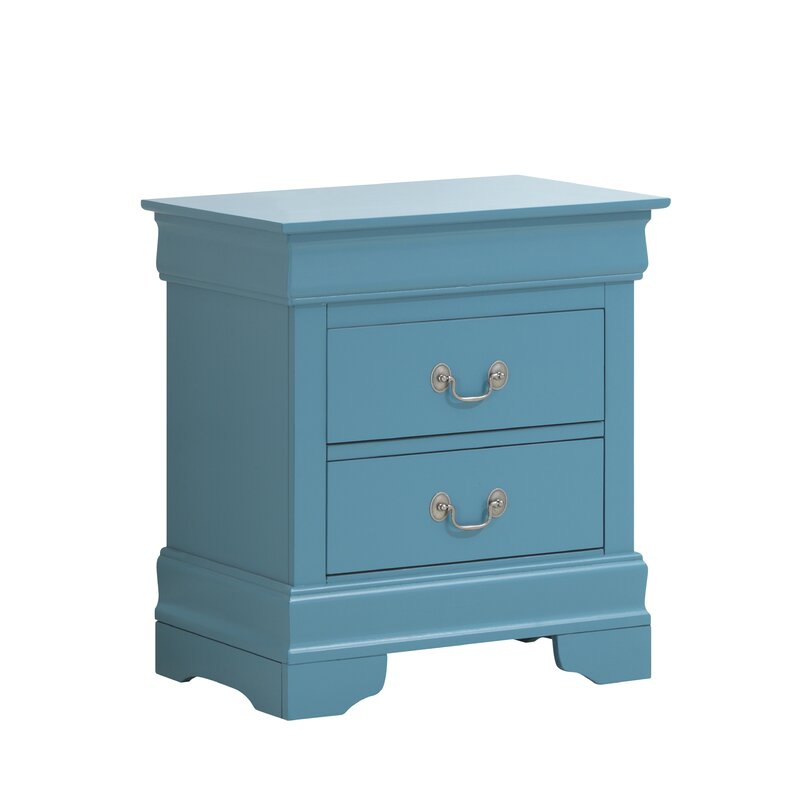 Lisle 2 Drawer Nightstand