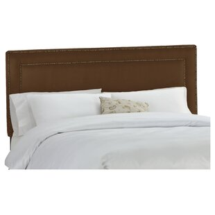 Willa Arlo Interiors Doleman Nail Buttoned Upholstered Panel Headboard