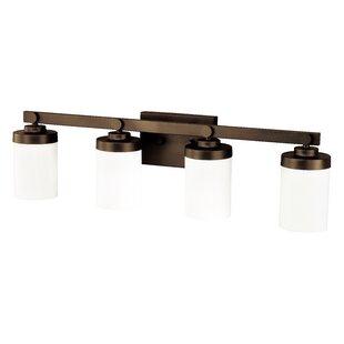 Gallman 4-Light Vanity Light by Wrought Studio