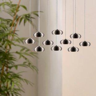 Chana 10-Light LED Cluster Pendant by Orren Ellis