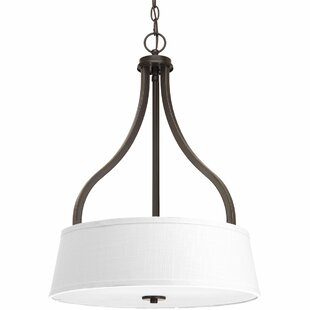 Andover Mills Sanibel 3-Light Drum Pendant