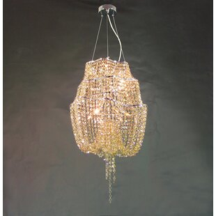 House of Hampton Mcmurtry 12-Light Crystal Chandelier