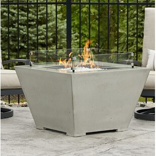 The Outdoor GreatRoom Company Cove Concrete Propane/Natural Gas Fire Pit Bowl