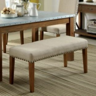 Shearer Upholstered Bench Best #1