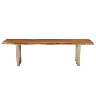 Monserrat Wood Bench by Union Rustic