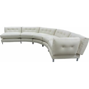 5 Piece Curved Symmetrical Modular Sectional