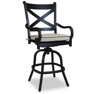 Monterey 30 Patio Bar Stool with Self Welt Cushion Sunset West