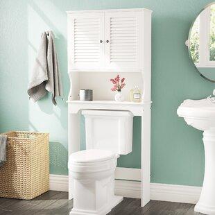Rangement au-dessus toilette: Type de montage - Fixé au mur | Wayfair.ca