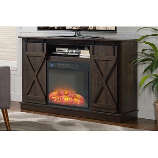Quance 54 TV Stand with Fireplace by Gracie Oaks