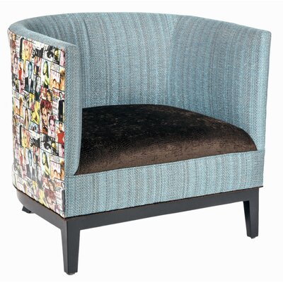 Cool Lisa Barrel Chair Loni M Designs Body Fabric Belvedere Ivory Onthecornerstone Fun Painted Chair Ideas Images Onthecornerstoneorg