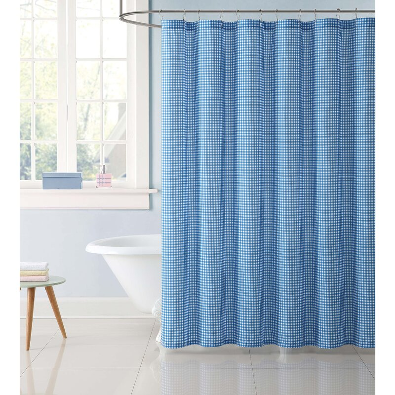 Dupree Everyday Gingham Shower Curtain | AllModern