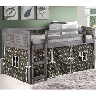 Zoomie Kids Irving Place Twin Low Loft Bed