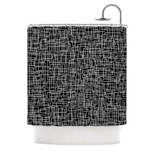 'Komada' Single Shower Curtain