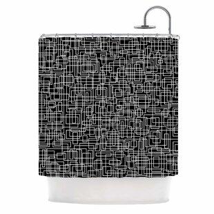 'Komada' Single Shower Curtain
