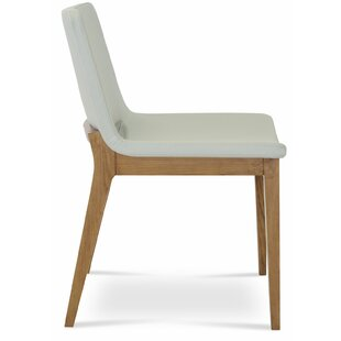 sohoConcept Nevada Wood Upholstered Dining Chair