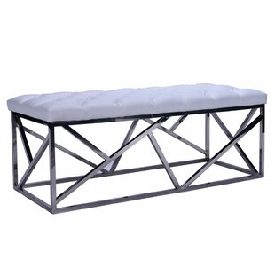 Everly Quinn Plymouth Metal Bench