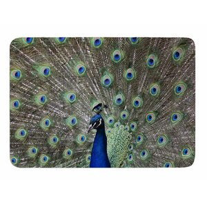 Peacock of Stunning Features by Sing Jo Memory Foam Bath Mat