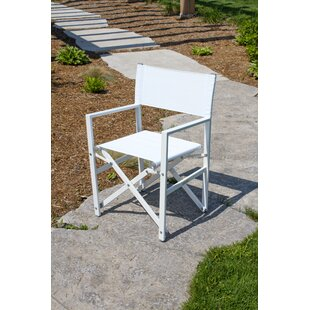 Pinkham Folding Director Chair with Cushion