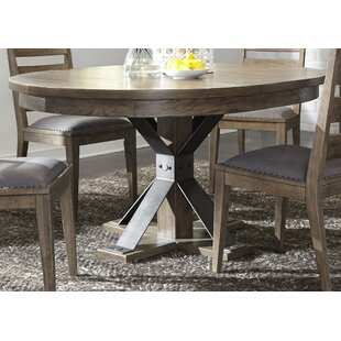 Cleaver Pedestal 5 Piece Dining Set