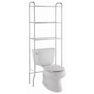 Best Reviews 23.5 W x 67 H Over the Toilet Storage By Wildon Home ®
